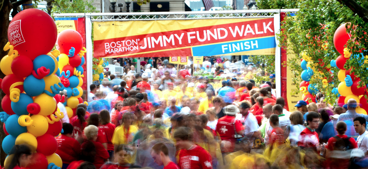 The Boston Marathon Jimmy Fund Walk